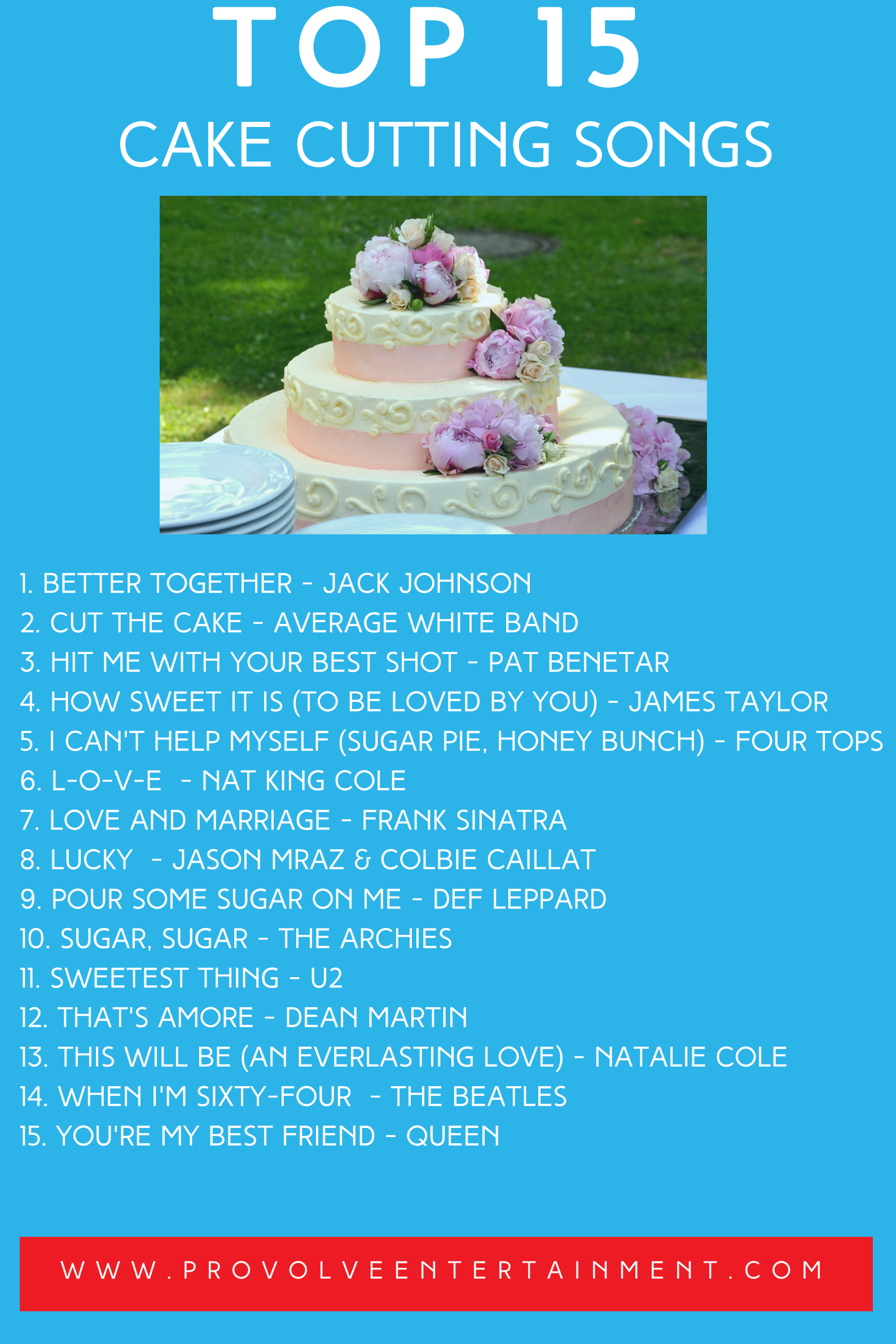 cake cutting recommendations from professional dj s provolve